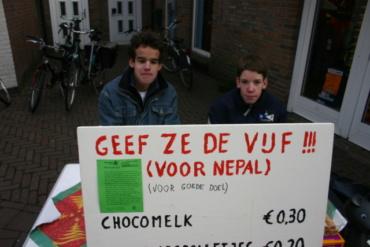 Actie voor KFH door Scholengemeenschap 't Assink Haaksbergen