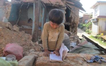Aardbeving Nepal 2015