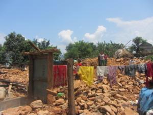 Schade aardbeving Yampa