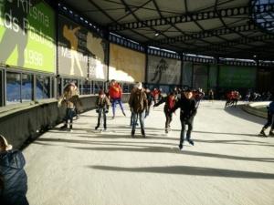 Op de schaats schaatsaktie werkplaats Bilthoven