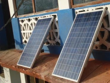 Aktie voor zonnepanelen