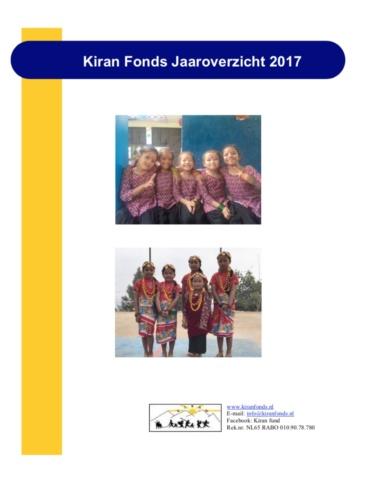 Jaarverslag 2017 is uit