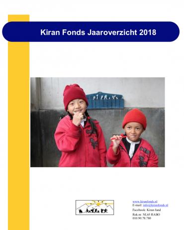 Jaarverslag 2018 is uit